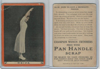 T221 Pan Handle Scrap, Champion Women Swimmers, 1910, #22 Odiva