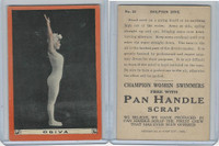 T221 Pan Handle Scrap, Champion Women Swimmers, 1910, #23 Odiva