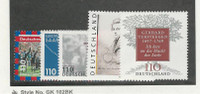 Germany, Postage Stamp, #1981-1985 Mint NH, 1997