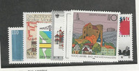 Germany, Postage Stamp, #1986-1992 Mint NH, 1997-98