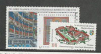 Germany, Postage Stamp, #1998-1999, 2001 Mint NH, 1998