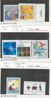 Germany, Postage Stamp, #2027-28, 2032-4, 2043-4 Mint NH, 1999
