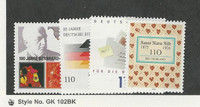 Germany, Postage Stamp, #2101-2104 Mint NH, 2000