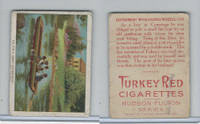 T72 Turkey Red, Hudson - Fulton Series, 1909, Fulton's First Experiment (B)