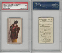 T410 American Tobacco, Illustrated Songs, 1910, If We Should Never Meet, PSA 1