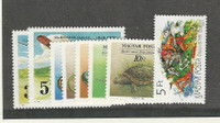 Hungary, Postage Stamp, #3187-3194 Mint NH, 1989 Animals Airplanes