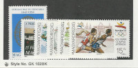 Hungary, Postage Stamp, #3332-3337 Mint NH, 1992 Olympics, Sports