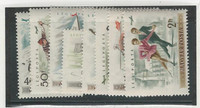 Hungary, Postage Stamp, #C158-C165 Mint Hinged, 1955 Winter Sports