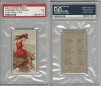N232 Kinney, Surf Beauties, 1889, Cherebourg, France, PSA 5 EX