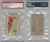 N232 Kinney, Surf Beauties, 1889, Scarborough, England, PSA 4 VGEX