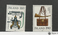 Iceland, Postage Stamp, #515-516 Mint NH, 1979