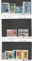 Iceland, Postage Stamp, #760//832 (12 Different) Used, 1992-96