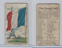 E16 Dockman & Son, Flag Chewing Gum, 1920's, France