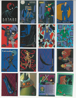 1989 Topps, Batman Animated, Complete 1st Series of 100 Cards