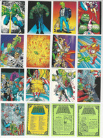 1992 Comic Images, Savage Dragon, Complete Set of 90 Cards