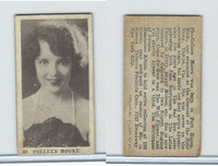 T85-1 Tobacco Products Corp, Movie Stars, 1922, #20 Colleen Moore