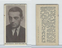 T85-1 Tobacco Products Corp, Movie Stars, 1922, #82 Richard Barthelmess