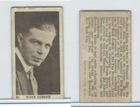 T85-1 Tobacco Products Corp, Movie Stars, 1922, #89 Hoot Gibsom