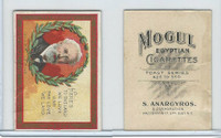 T112 Mogul Cigarettes, Toast Series, 1909, Heres To The Land, Jules Verne