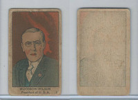 W545, World War I Leaders, Scenes, Insignia, 1920's, #1 President W. Wilson (B)