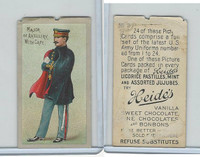 E170 Heides Candies, U.S. Army Uniforms, 1920's, #9 Major Artillery Cape