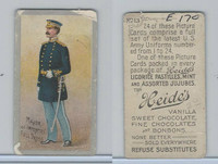 E170 Heides Candies, U.S. Army Uniforms, 1920's, #13 Major of Infantry