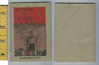 Victorian Card (Booklet), 1890's, American Bible Society,  Gospel of St. John