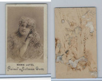 E180 Heisels, Actress Gum, 1890's, Mamie Lutel