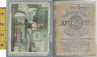 Victorian Card, 1890's, Dayton Spice, Jersey Coffee, Boy Plays Music