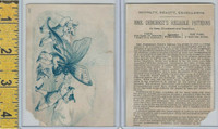 Victorian Card, 1890's, Demorest Patterns, New York, Boys Attack Butterfly