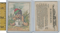 Victorian Card, 1890's, Dilworth Coffee, Child, Cup, Spoon