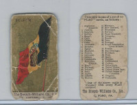 E18-1A Williams Caramel, Flag Cards, 1910, Belgium