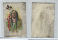 S68 American Tobacco Silk, Indian Portraits, 1910, Crows Breast