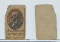 W Card, Strip Card, History, 1920's, Grover Cleveland, President