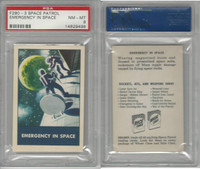 F280-3 Chex Cereal, Space Patrol, 1950's, Emergency In Space, PSA 8 NMMT