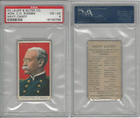 E2 Lauer & Suter, Navy Candy, 1920's, Charles D. Sigsbee, PSA 4 VGEX