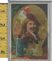 Victorian Card, 1890's, Saul, Julius Clothiers, Troy NY, Rembrandt, Artist