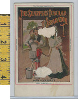 Victorian Card, 1890's, Sharpies Separator, West Chester PA, Gringing Machine