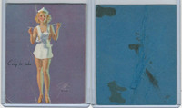 W424 Mutoscope Blotter Cut Pin Up Girls, 1940's, Easy To Take