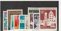 Luxembourg, Postage Stamp, #549-558 Mint NH, 1974-75