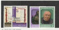 Luxembourg, Postage Stamp, #672-675 Mint NH, 1979