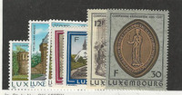 Luxembourg, Postage Stamp, #753-755, 759-762 Mint NH, 1986
