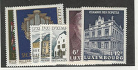 Luxembourg, Postage Stamp, #771-772, 775-779 Mint NH, 1987