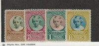 Luxembourg, Postage Stamp, #B31-B34 Mint LH, 1928