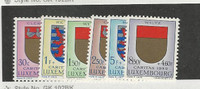 Luxembourg, Postage Stamp, #B210-B215 Mint NH, 1959