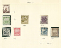 Manchukuo Collection 1932-1938 on 3 Scott International Pages
