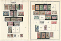 Martinique Collection 1886-1947 on 16 Minkus Specialty Pages, All Mint, French