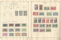Mauritania & Mauritius Collection 1906-1940 on 7 Scott International Pages