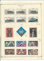 Monaco Collection 1942-1970 on Scott International Pages