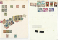 Monaco Collection on 8 Pages, Nice Lot To Pick Through, Many Nice Stamps